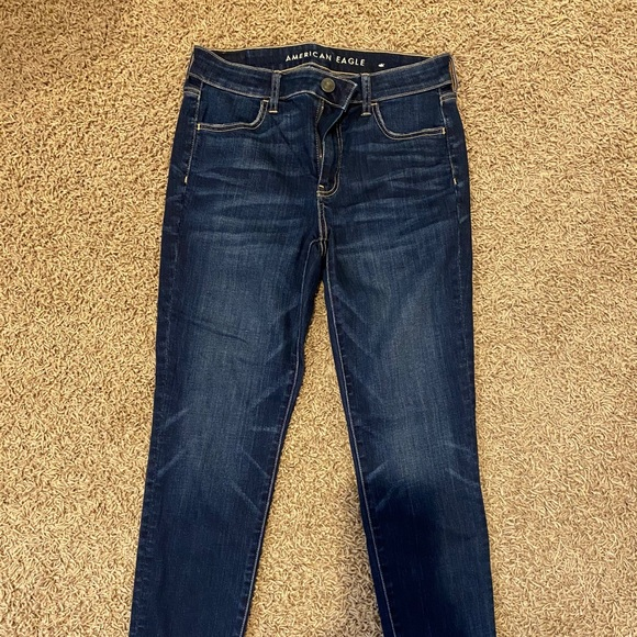 American Eagle Ankle Dark Jeans